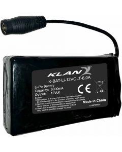 Klan Battery/Chargerkit 12V,6A