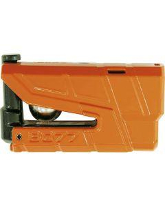 ABUS GRANIT Detecto X Plus 8077 ART4 Schijfremslot met Alarm Oranje