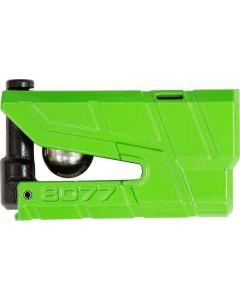 ABUS GRANIT Detecto X Plus 8077 ART4 Schijfremslot met Alarm Groen