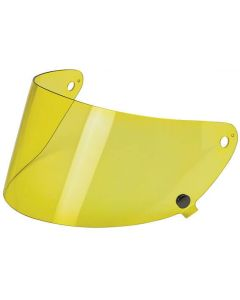 Biltwell Gringo S Anti-fog Face Shield Yellow