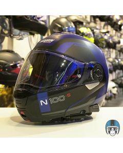 Nolan N100-5 Consistency N-Com Flat Cayman Blue 024