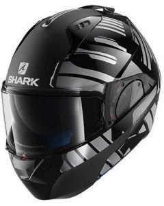 Shark Evo-One 2 Lithion Dual Black/Chrome/Antrhacite KUA