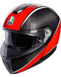 AGV Sportmodular Aero Carbon/Red 003