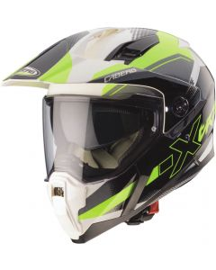 Caberg Xtrace Spark White/Anthracite/Yellow Fluo 170
