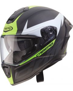 Caberg Drift Evo Carbon Matt Anthracite/Yellow Fluo 170
