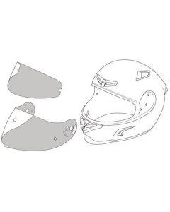 X-Lite Tear-Off X803, X802, X702, X661, X603 Clear