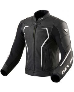 REV'IT Vertex GT Jacket Black/White