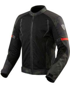 REV'IT Torque Jacket Black/Army Green
