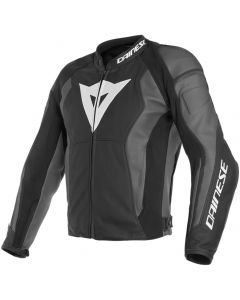 Dainese Nexus Leather Jacket Black/Black/Ebony Y21