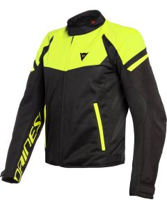 Dainese Bora Air Tex Jacket Black/Fluo Yellow 620