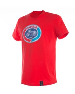 Dainese Moto72 T-Shirt Red 002