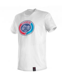 Dainese Moto72 T-Shirt White 003