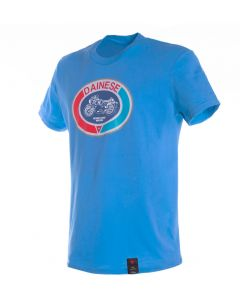 Dainese Moto72 T-Shirt Blue Aster Y43