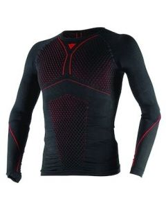Dainese D-Core Thermo Longsleeve Shirt Black/Red 606
