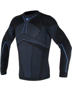 Dainese D-Core Aero Longsleeve Shirt Black/Cobalt Blue 607