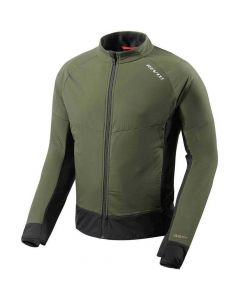 REV'IT Climate 2 Jacket Dark Green/Black