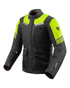 REV'IT Neptune 2 GTX Jacket Black/Neon Yellow