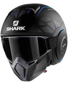 Shark Street Drak Hurok Matt Black/Blue/Black KBK