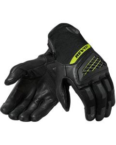 REV'IT Neutron 3 Gloves Black/Neon Yellow