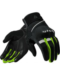 REV'IT Mosca Gloves Black/Neon Yellow
