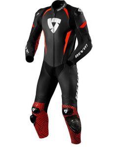 REV'IT Triton One Piece Black/Neon Red