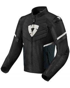 REV'IT Arc H2O Jacket Black/White