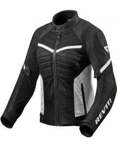 REV'IT Arc Air Ladies Jacket Black/White