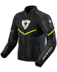 REV'IT Arc Air Jacket Black/Neon Yellow