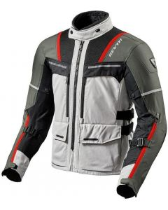 REV'IT Offtrack Jacket Silver/Red