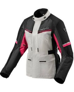 REV'IT Outback 3 Ladies Jacket Silver/Fuchsia
