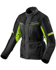 REV'IT Outback 3 Ladies Jacket Black/Neon Yellow