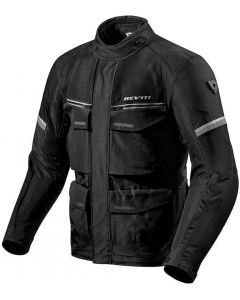REV'IT Outback 3 Jacket Black/Silver