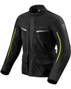 REV'IT Voltiac 2 Jacket Black/Neon Yellow