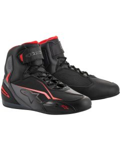 Alpinestars Faster-3 Shoes Black/Gray/Red 131