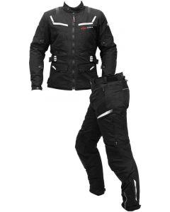 Jopa Alpha Motorpak (Jas en Broek) Black
