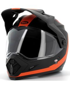 BELL MX-9 MIPS Adventure Switchback Matt Black/Orange