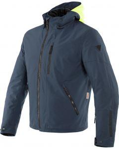 Dainese Mayfair D-Dry Jacket Fluo-Yellow/Ebony/Ebony 69C