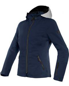 Dainese Mayfair Lady D-Dry Jacket Glacier-Gray/Black-Iris/Black-Iris 91D