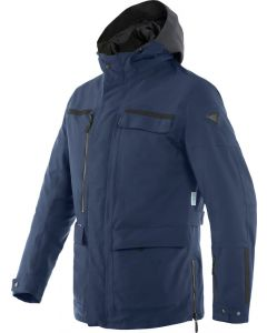 Dainese Milano D-Dry Jacket Ebony/Black-Iris/Black-Iris 90D