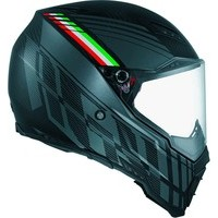 AGV AX-8 Naked Carbon Crosshelm