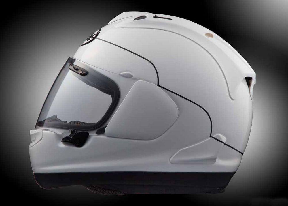 De Arai RX-7V Frost white