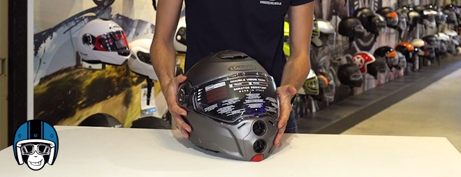 review Caberg Droid systeemhelm